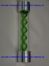 Green Resident Evil Umbrella T-Virus Spiral Vial Movie Game Prop Replica
