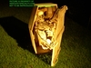 Halloween Animatronic Animated Half Coffin Prop Pneumatic