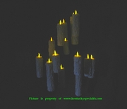 Halloween Floating Candles Harry Potter Great Hall Magic Illusion