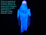 Halloween Hanging Blacklight Ghost Prop Special Plasma Decoration Version