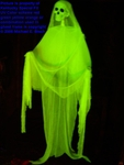 Halloween Hanging Ghost Prop Decoration Yellow Skeleton Jerry Springer