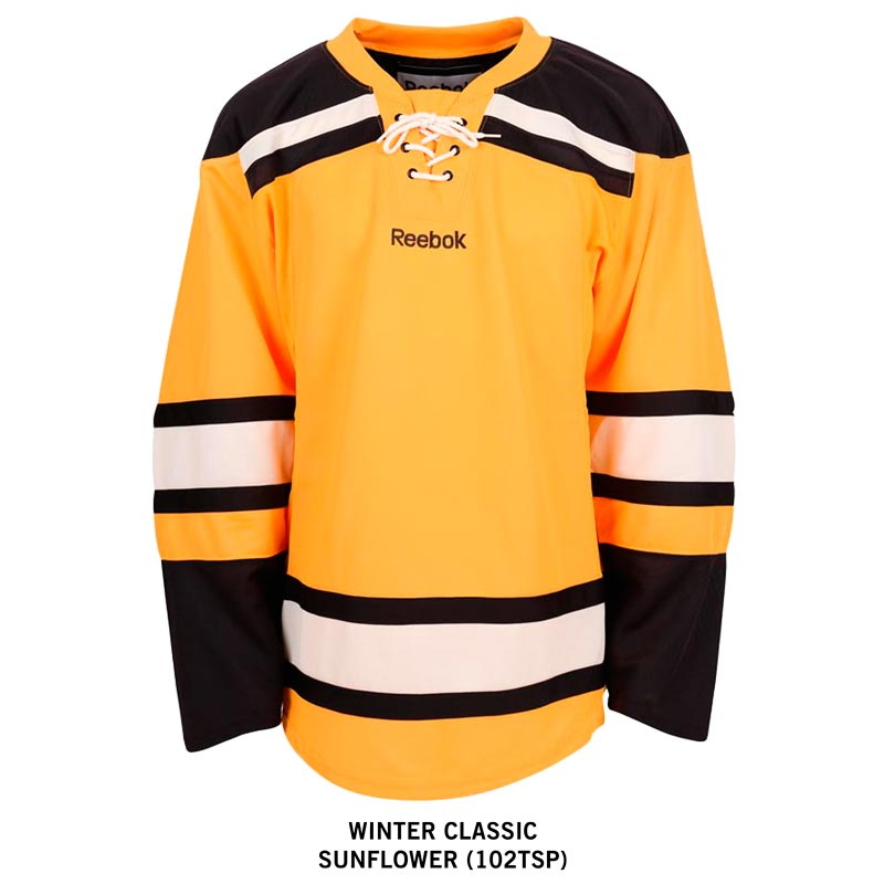 Boston Bruins Winter Classic Reebok Edge Gamewear Uncrested Adult Hockey  Jersey a33465bf5