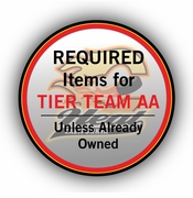 CA Heat Required Items for Tier Teams Only