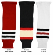 CCM S100 Chicago Blackhawks Hockey Socks