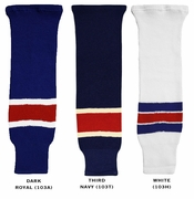 CCM S100 New York Rangers Hockey Socks