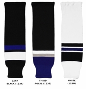 CCM S100 Tampa Bay Lightning Hockey Socks