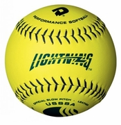 DeMarini Lightning Leather USSSA Slowpitch Softball