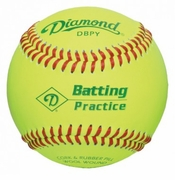 Diamond Batting Practice Baseball