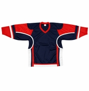Firstar Stadium Hockey Jersey - Navy/Red/White