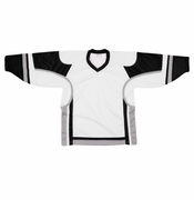 Firstar Stadium Hockey Jersey - White/Black/Gray