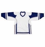Firstar Stadium Hockey Jersey - White/Royal/Gray