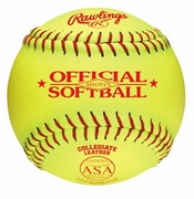 "Rawlings ASA 12"" Fastpitch Softball"