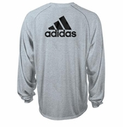 SLD Adidas Climalite Long Sleeve Tee With BACK Logo