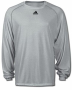 SLD Adidas Climalite Long Sleeve Tee With FRONT Logo
