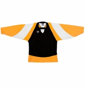 Warrior Lightning KH300 Hockey Jersey - Black/Gold/White