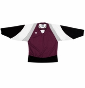 Warrior Lightning KH300 Hockey Jersey - Maroon/Black/White