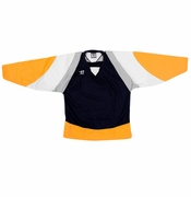 Warrior Lightning KH300 Hockey Jersey - Navy/Gold/Gray