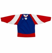 Warrior Lightning KH300 Hockey Jersey - Royal/Red/White