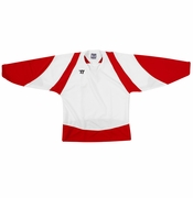 Warrior Lightning KH300 Hockey Jersey - White/Scarlet/White
