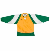 Warrior Lightning KH300 Hockey Jersey - Yellow/Green/White