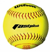 "Wilson BASA-Low Polycore 12"" Fastpitch Softball"