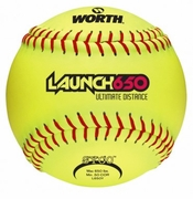 Worth Launch 650Y Slowpitch Softball