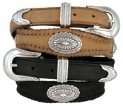 Arizona Southwestern Leather Western Belt