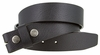 "BS1600 Mens Buffalo Texture Genuine Full Grain Leather Belt Strap 1 3/8"" Wide"