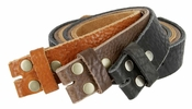 "Full Grain Cowhide Leather Belt Strap Hand-crafted in USA 1-1/2"" wide"