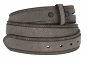 Fullerton 3510004 Genuine Suede Leather Belt Straps - Gray