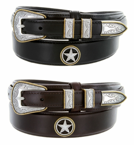Gold Star Men's Ranger Belt