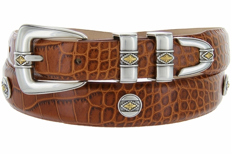Golden Diamond Men's Golf  Designer  Belt