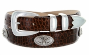 Golf Belt of Palisades Men's Italian Leather Golf Belt