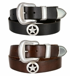 Marshall Star Western Full Grain Leather Casual belt