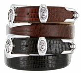 Monterey Men's Designer Leather Golf Belt