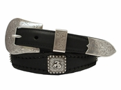 Rodeo Bronc Rider Concho Belt