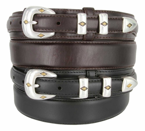 S-5513 Oil Tanned Leather Ranger Belt