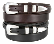 S5354 Oil Tanned Leather Ranger Belt