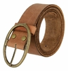 Tree of Life Vintage Style Full Grain Leather Belt