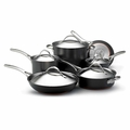 Anolon Nouvelle Copper Hard Anodized 11 Piece Cookware Set