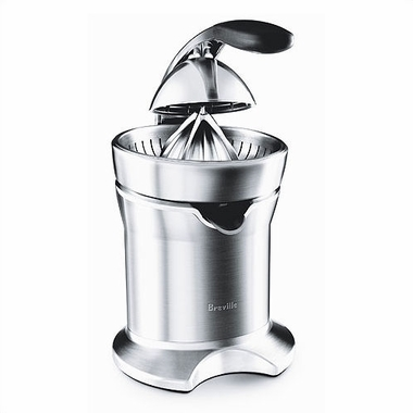 Breville 800CPXL Stainless Steel Die-Cast Electric Citrus Press