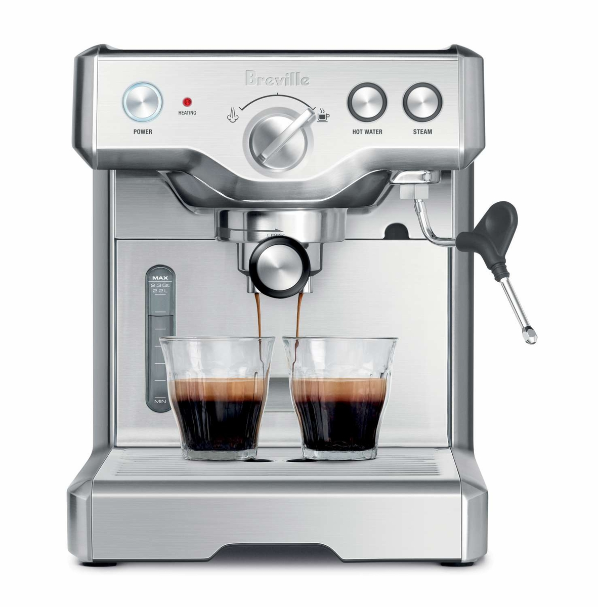 Breville 800ESXL Die-Cast Duo-Temp Espresso Machine at Chefs Corner Store