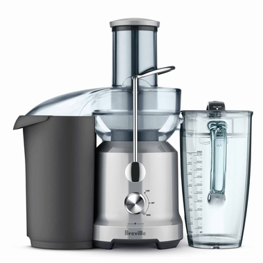 Breville BJE430SIL The Cold Press Juicer, Silver