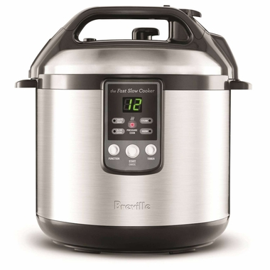Breville BPR600XL Fast Slow Electric Pressure and Slow Cooker