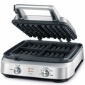 Breville BWM604BSS Smart 4 Square Waffle Maker