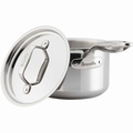 Breville Thermo Pro Clad Covered Sauce Pot, 4 Quart