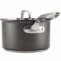 Breville Thermo Pro Hard Anodized Covered Sauce Pan, 2 Quart