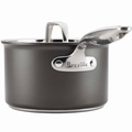 Breville Thermo Pro Hard Anodized Covered Sauce Pan, 3 Quart