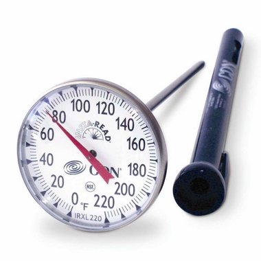 CDN ProAccurate Large Dial Cooking Thermometer