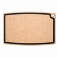 Epicurean Chef Series Cutting Board with Juice Groove, 27 x 18 Inch, Natural / Slate